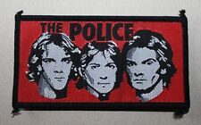 The Police , Band Patch, Vintage 80's, rar, rare