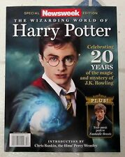 Wizarding World Of HARRY POTTER Newsweek Special Edition 98 Pages CELEBRATING 20