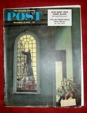 THE SATURDAY EVENING POST DECEMBER 27, 1952 - STEVEN DOHANOS COVER