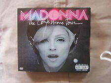 MADONNA the confessions tour CD+DVD +LIBRETTO SPILLATO,RARE EDITION