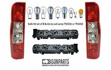 *FORD TRANSIT MK7 2006-2014 REAR TAIL LAMP / LIGHTS, BULB HOLDERS & BULBS TRA501