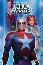 City of Heroes by Mark Waid and Troy Hickman (2005, Paperback)