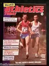 ATHLETICS TODAY - WENDY SLY INTERVIEW - NOV 2 1989