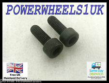 NU032 SET OF 2 49CC  MINI MOTO DIRT MINI QUAD BIKE EXHAUST FIXING BOLTS SCREWS