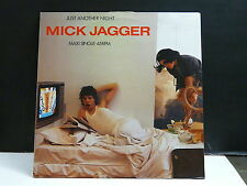 """MAXI 12"""" Promo MICK JAGGER ( ROLLING STONES ) Just another night SAMP 97 Holland"""