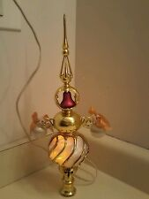 Vintage Collectable Bradford Exchange Light Up Christmas Tree Topper