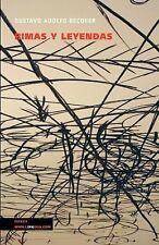 Rimas y Leyendas by Gustavo Adolfo Bécquer (2014, Paperback)