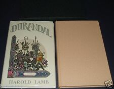 Limited Deluxe Edition Signed by both artists of Durandal by Harold Lamb