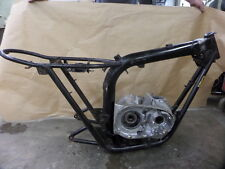 1972 BSA A65 THUNDERBOLT FRAME WITH MATCHING ENGINE CASE A65T KG 01817 NO CUTS
