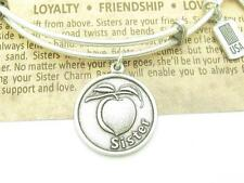 Authentic Wind and Fire Sister Charm Wire Bangle Bracelet Made In The USA Gift
