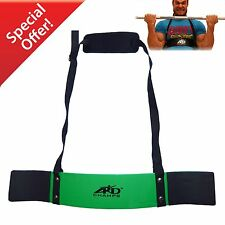 ARD CHAMPS™ Heavy Duty Arm Blaster Body Building Bomber Bicep Curl Triceps Green