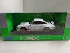 Welly : Porsche 911 Carrera RS, white-red, 1973, 1:18 , New