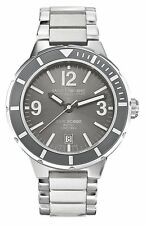 Saint Honore Mens 861501 1GBN Worldcode Paris Brushed & Polished SS Diving Watch