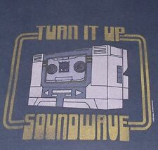 """Transformers - Soundwave """"Turn it Up"""" t-shirt - size S - small - Decepticon"""