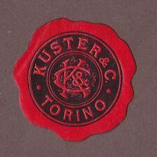 Sigillo marchio Torino Kuster & C. (Torino Italia Italy Seal insegne marchio)