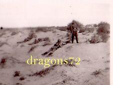 Foto Heimat Pioniere auf Übung Flammenwerfer Bunkerbekämpfung+mehr  orig