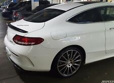 MERCEDES BENZ AMG STYLE CARBON FIBER TRUNK SPOILER FOR C205 COUPE