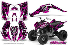 YAMAHA RAPTOR 350 GRAPHICS KIT CREATORX DECALS STICKERS SAMURAI PB