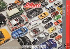 CATALOGUE HO 1/87 SCHUCO 2007 JUNIOR LINE CARS POLICE POMPIERS COURSE CAMIONS