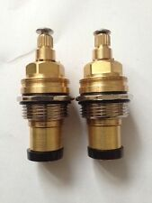 2 x Replacement Tap Valve 3/4 Inch For Bath/Basin/Sink Tap