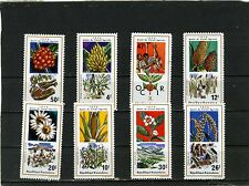 RWANDA 1975 Sc#632-639  FLORA AGRICULTURE PLANTS SET OF 8 STAMPS MNH