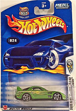 Hot Wheels 024 24/Seven, 2003 First Editions 12/42, METAL Collection, Mint