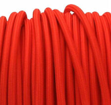 RED vintage stylelighting textile fabric electrical cord cloth cable