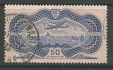 FRANCE. 1936. 50fr Blue Banknote Airmail. SG: 541. Fine Used.
