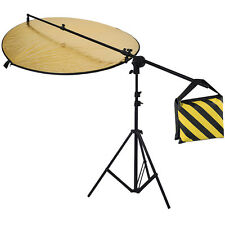 Neewer Reflector Kit(5in1 Reflector+Light Stand+Reflector Holding Arm +Sangbag )