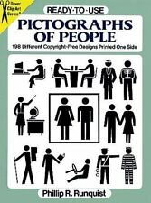 Ready-to-Use Pictographs of People (Dover Clip-Art)