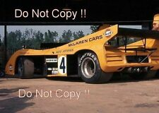 Peter Revson McLaren-Chevrolet M20 Road Atlanta Can Am 1972 Photograph