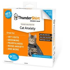 ThunderShirt Insanely Calm for Cat Anxiety Large Solid Gray Shirt 13lbs & up
