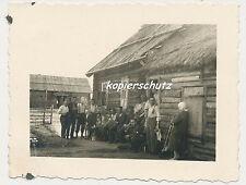 Foto Russland Bauernhaus-Soldaten-russische Oma/Frau (602)