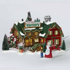 DEPT 56 SNOW VILLAGE  MRS. CLAUS' NORTHWOOD NURSERY