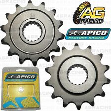 Apico Front Sprocket 14T Teeth Tooth 520 Pitch For Honda CRF 450R 2002-2014 New