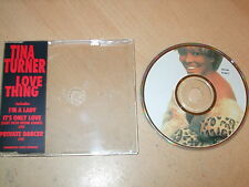 Tina Turner - Love Thing (CD) 4 Track Picture Disc - Mint/New - Fast Postage