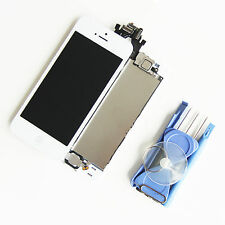 iPhone 5 Display LCD RETINA Glas Komplett VORMONTIERT Front Weis Weiß