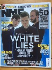 NME 22/01/11 White Lies cover, Chapel Club, Esben & The Witch, The View