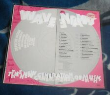 WAVE NEWS THE NEW GENERATION OF MUSIC 1982 GERMANY, VIOLET LP, INT 145.057