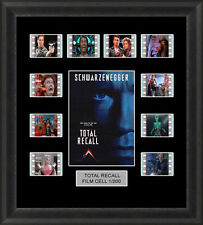 TOTAL RECALL FILM CELL MEMORABILIA ARNIE SCHWARZENEGGER FILM CELLS