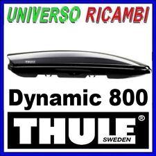 BOX AUTO Thule Dynamic 800  NERO  Il box  più sportivo aerodinamico e sottile