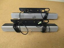 LOT OF 2 HP SILVER FLAT PANEL SPEAKER BARS! EE418AA / SP03A01! FREE SHIPPING!