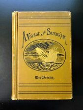 1881 VOYAGE IN THE SUNBEAM - 11 Months on the Ocean, Illust., Map