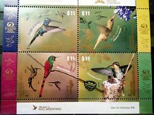 ARGENTINA: Fauna / Tropical Birds II / Aves (2016) MNH Sheetlet (T)