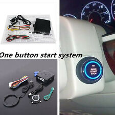 DC 12V Keyless Entry Car SUV Engine Push Start Button Lock Ignition Immobilizer