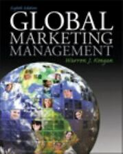 Global Marketing Management (8th Edition) by Keegan, Warren J.