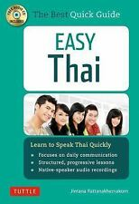 Easy Thai: Learn to Speak Thai Quickly (Includes Audio CD), Rattanakhemakorn, Ji
