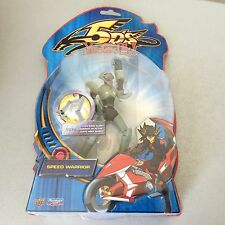 PLAYMATES 2009 #YU GI OH 5D' SPEED WARRIOR  ACTION FIGURE MOSC