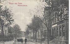 Gruss aus Sude AK 1913 Helenenstrasse Kinder Itzehoe Schleswig-Holstein 1611100
