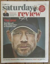 Ron Howard – Times Saturday Review – 7 September 2013